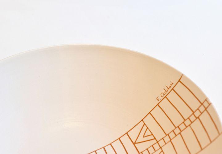 Piatto ceramica for Isola arreda cagliari